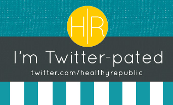 Follow Healthy Republic on Twitter